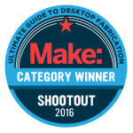 ULTIMAKER 2 EXTENDED NAMED BEST LARGE FORMAT 3D PRINTER BY MAKE MAGAZINE