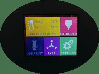 Pantalla táctil LCD