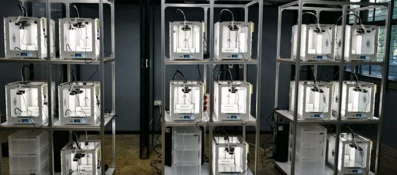 Aumentar el potencial educativo en Tailandia usando impresoras 3D