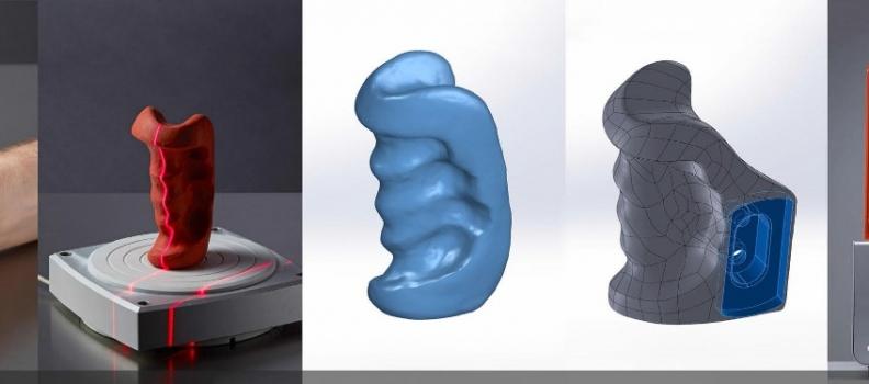 Escaneado 3D para ingeniería inversa, restauración y metrología