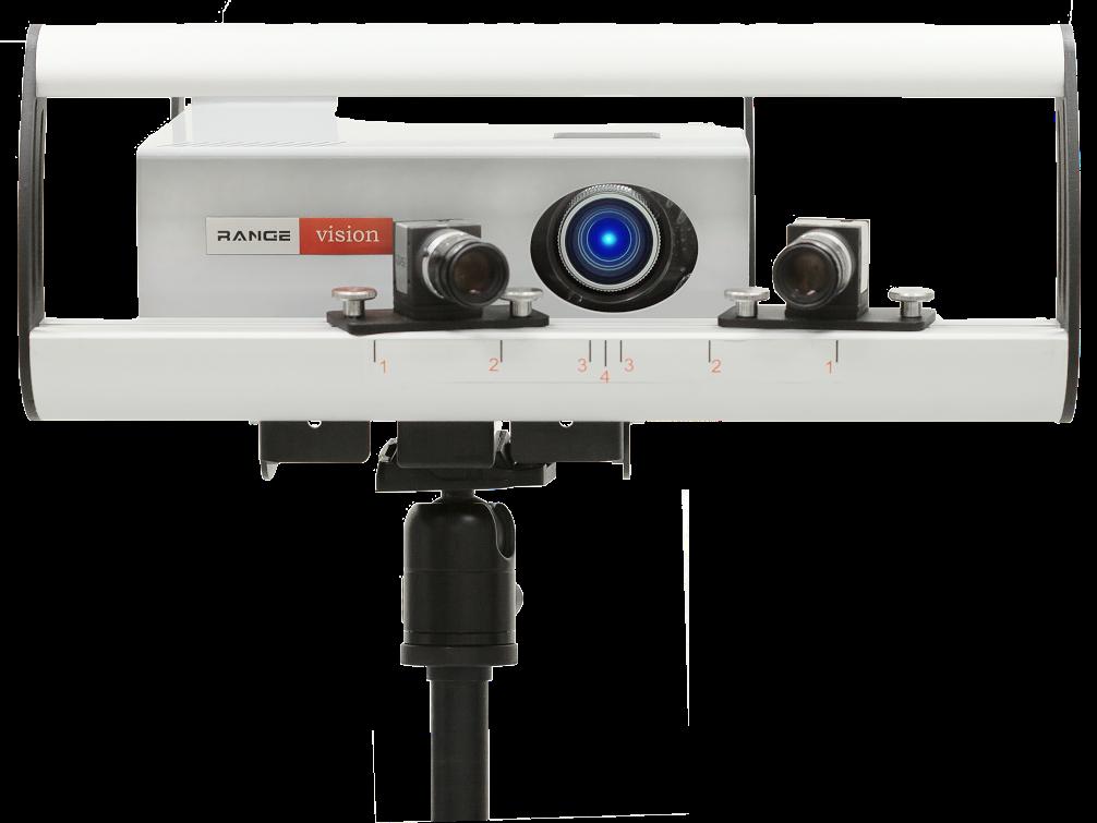 Scanner 3D Rangevision Standard